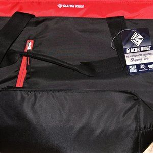 NWT: Glacier Ridge insulated shopping tote bag
